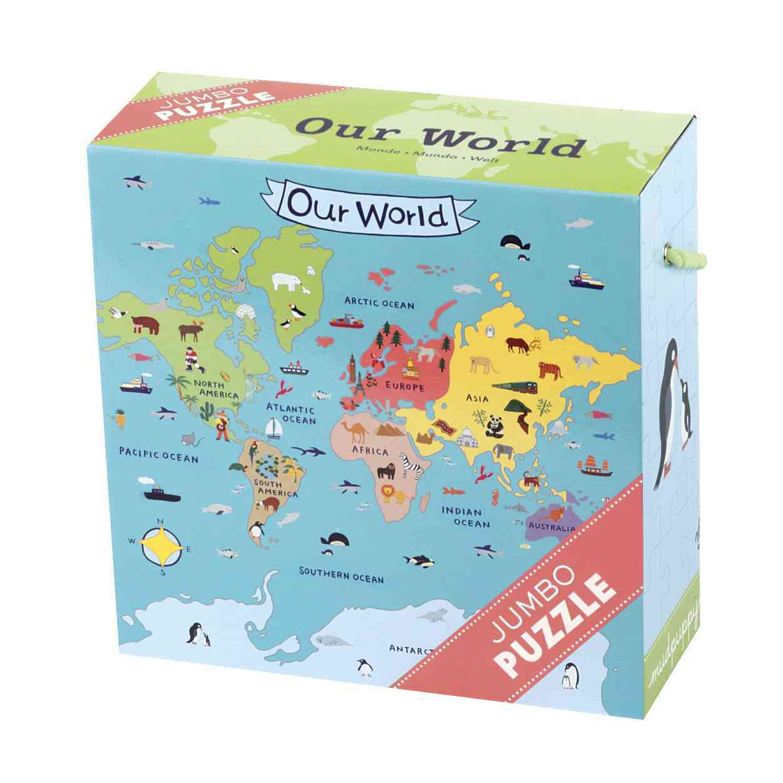 Our World Jumbo Puzzle By Watanabe, Kaori (ILT)
